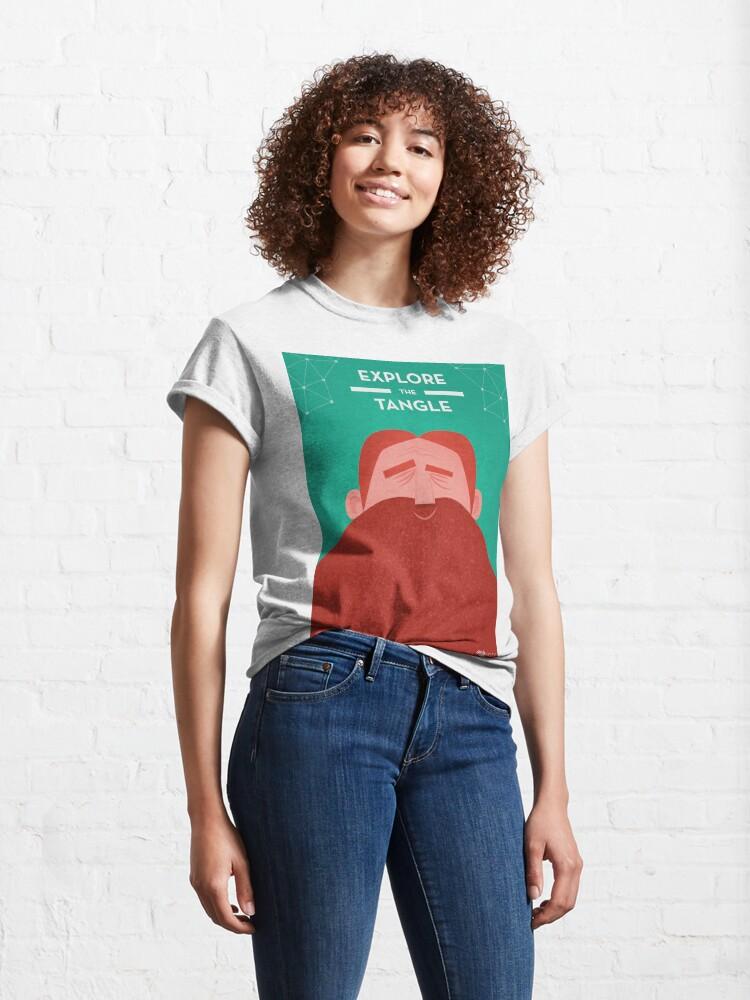 Alternate view of IOTA - Explore the Tangle Classic T-Shirt