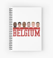 Belgium Team Spiral Notebook
