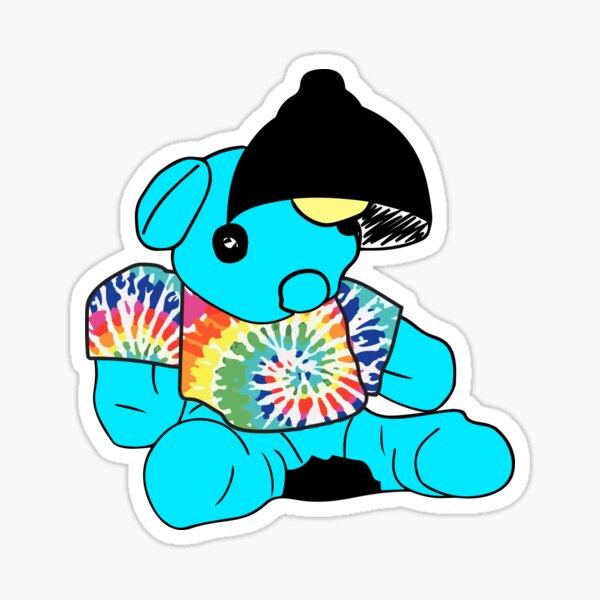 Tie Dye Blueno Sticker
