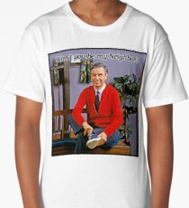 Won't you be my neighbor - Mr Rogers Long T-Shirt