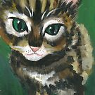 Curious Kitten by Rosa Opie by Ira Mitchell-Kirk