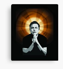 In Elon Musk We Trust Canvas Print
