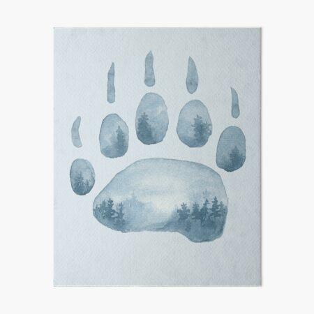 Misty Mountain Hop Art Board Print
