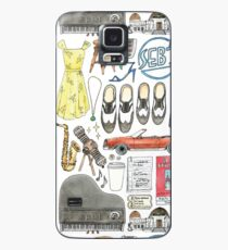 La La Land Illustration Jazz Saxophone Music Musical  Case/Skin for Samsung Galaxy