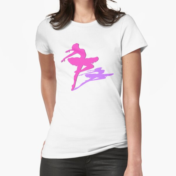 The Ballerina  Fitted T-Shirt