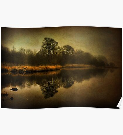 Misty Reflections Poster