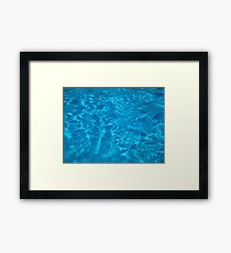 Watery Ways  Framed Print