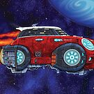 Hot Rods in Space:  M1-N1 Cooper by CraigWoida