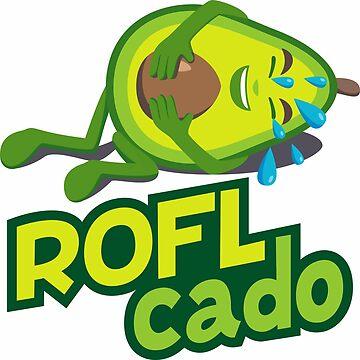 ROFL-cado Avocado Emoji by joypixels