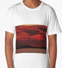 Beach Sunset 1 Long T-Shirt