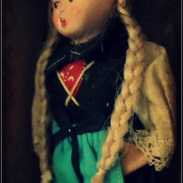 Vintage Doll by angelandspot