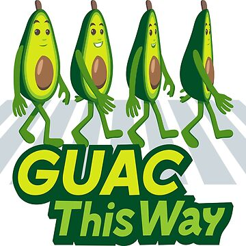 Guac This Way Avocado Emoji by joypixels