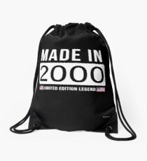 Made In 2000 Limited Edition Legend - Birthday Gift For D.O.B  2000 Born In  2000 Drawstring Bag