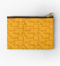 Patchwork Metal Side Paneling Studio Pouch