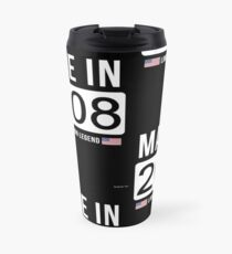 Made In 2008 Limited Edition Legend - Birthday Gift For D.O.B  2008 Born In  2008 Travel Mug