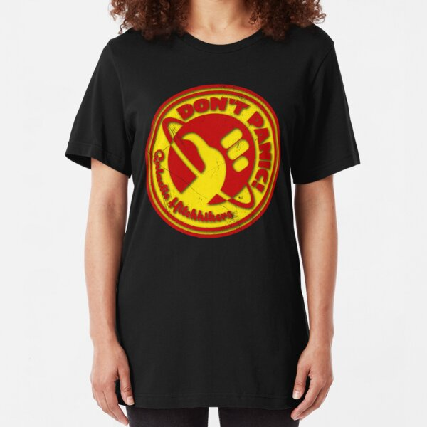 Galactic Hitchhikers 2K15 Slim Fit T-Shirt