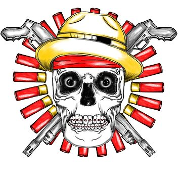 Skull with Guns by madeDeduk