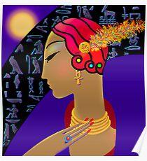 'Hollywood Nefertiti' Night on the Nile Poster