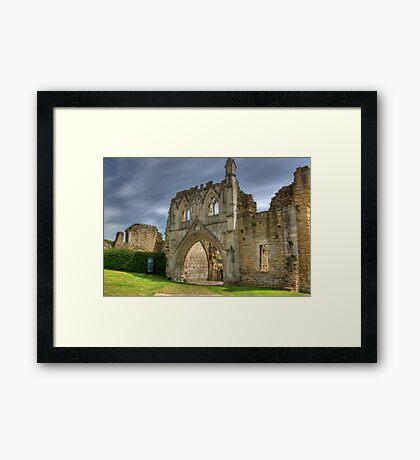 Kirkham Abbey   -  North Yorkshire Framed Print
