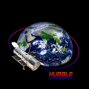 Hubble Space Telescope Fanart - C&A Nature by ColorandArt-Lab
