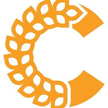 Chaff- Large Logo Mono by dredlocked-sage