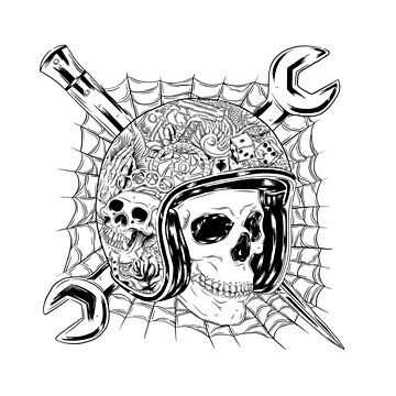 Skull Rider by madeDeduk