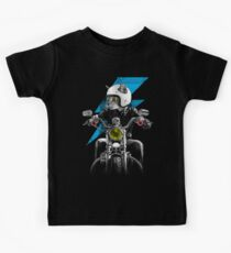 Biker Cat Kids T-Shirt