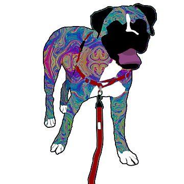 Rainbow Dog by np-bestdesigns