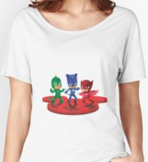 PJ Masks Women's Relaxed Fit T-Shirt