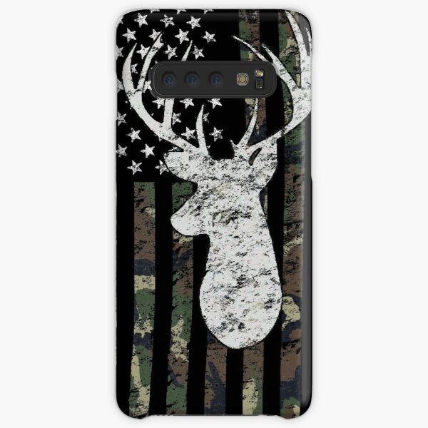Camouflage Flag Deer Hunting  Samsung Galaxy Snap Case