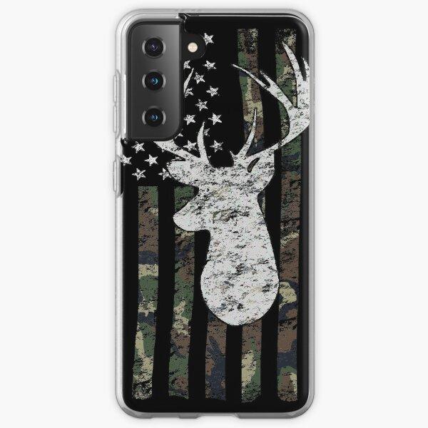 Camouflage Flag Deer Hunting  Samsung Galaxy Soft Case