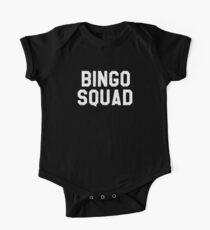 Bingo Squad Funny Lucky Senior Citizen Bingo Player T-Shirt One Piece - Short Sleeve