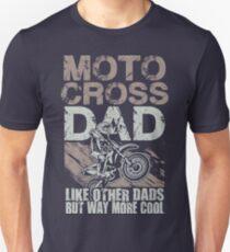 Motocross-Schmutz-Fahrrad-Vati Slim Fit T-Shirt