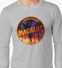 Magaluf, Magaluf t shirt, Magaluf sticker, Spain, with palmtrees Long Sleeve T-Shirt