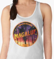 Magaluf, Magaluf t shirt, Magaluf sticker, Spain, with palmtrees Women's Tank Top