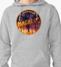 Magaluf, Magaluf t shirt, Magaluf sticker, Spain, with palmtrees Pullover Hoodie
