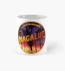 Magaluf, Magaluf t shirt, Magaluf sticker, Spain, with palmtrees Mug