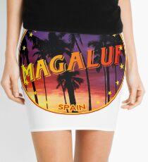 Magaluf, Magaluf t shirt, Magaluf sticker, Spain, with palmtrees Mini Skirt