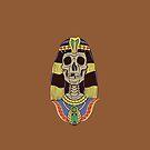 Skull Cleopatra by Alan Funk