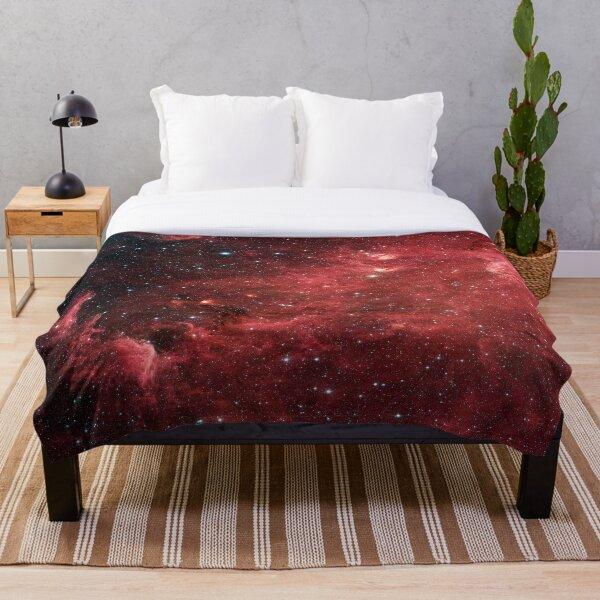 North America Nebula Infrared, RBSSG Throw Blanket
