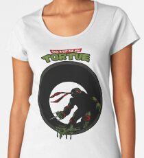 This is not a Turtle (Ceci n'est pas une Tortue) - Raph Women's Premium T-Shirt
