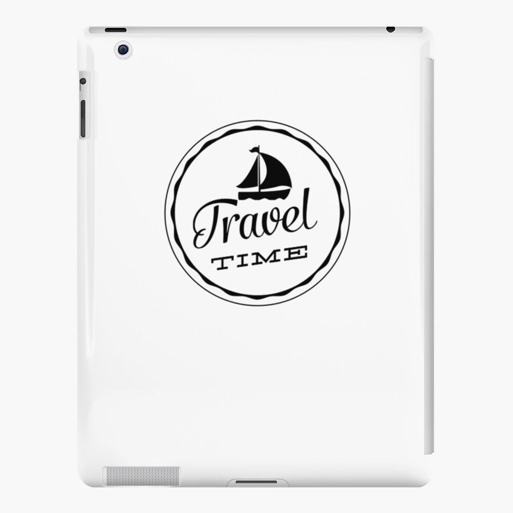 Travel Time iPad-Hülle & Skin