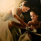 2 Dancers detail by Cathy Amendola