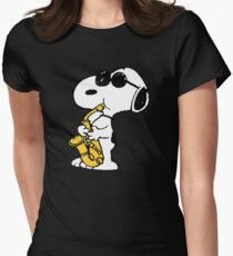 Snoopy Women's Fitted T-Shirt