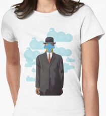 Twitterface Womens Fitted T-Shirt