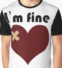broken heart  design Graphic T-Shirt