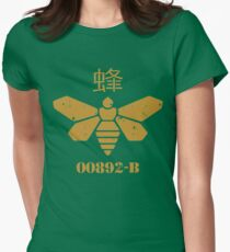 Methylamine Bee Breaking Bad Womens Fitted T-Shirt