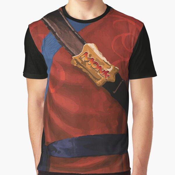 Dungeon Adventurewear: Monk Graphic T-Shirt