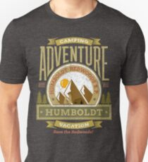 Humboldt Redwoods State Park Souvenirs T-shirts, Gifts Unisex T-Shirt