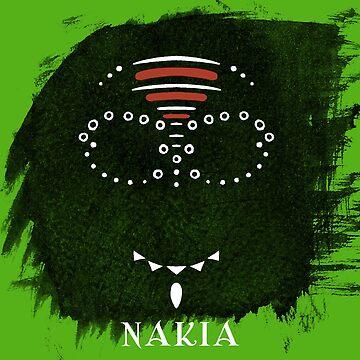 Nakia War Paint by gillyperkygoth